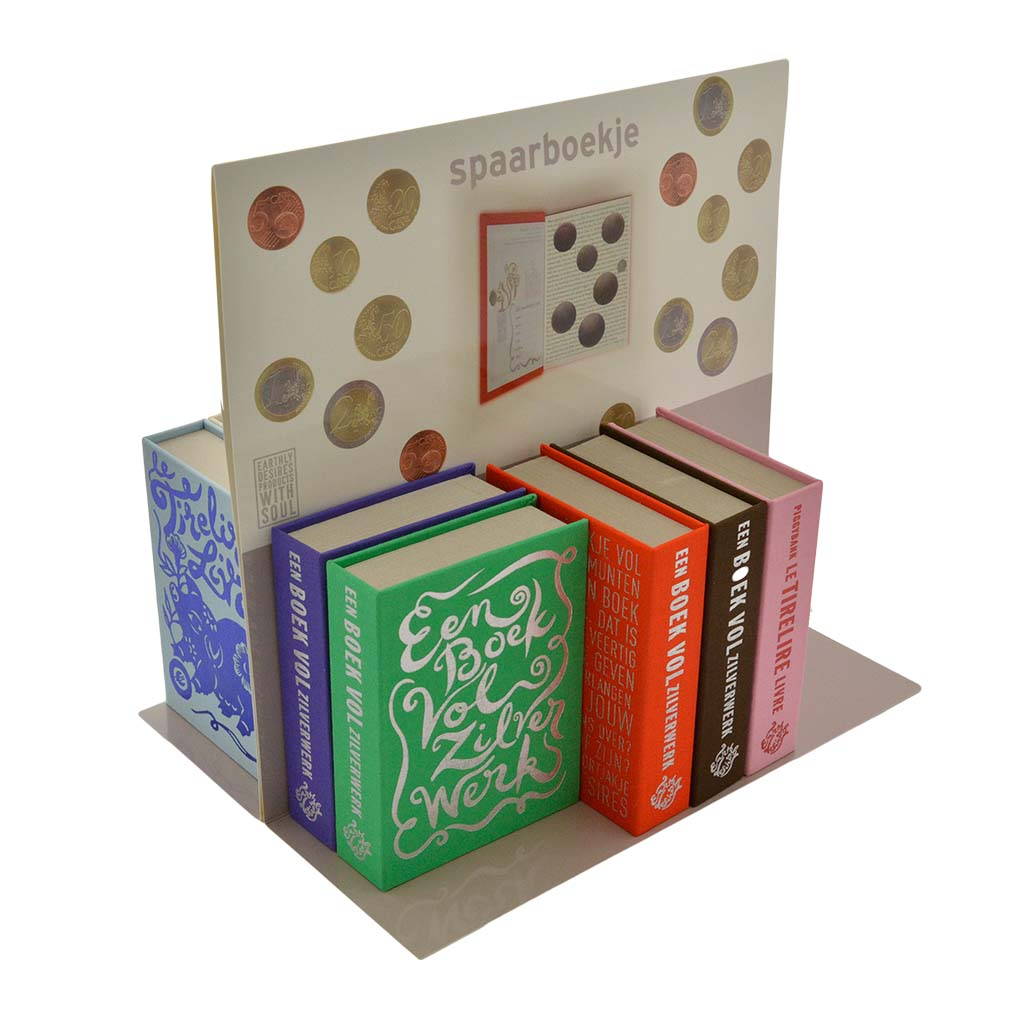 display spaarboekjes